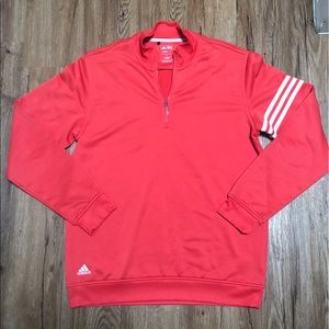 Adidas Climalite quarter zip pullover - size small